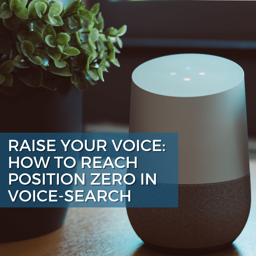 How to Reach Position Zero Voice-Search