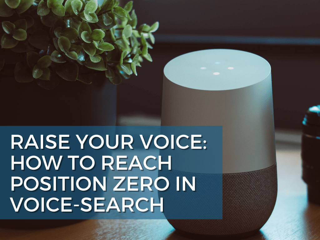 How to Reach Position Zero in Voice Search