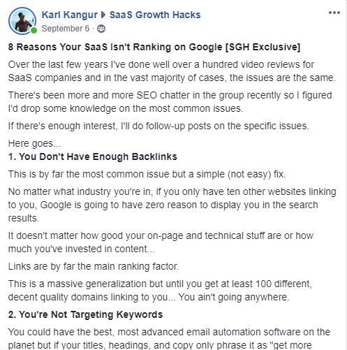 SaaS Growth Hacks Karl Kangur