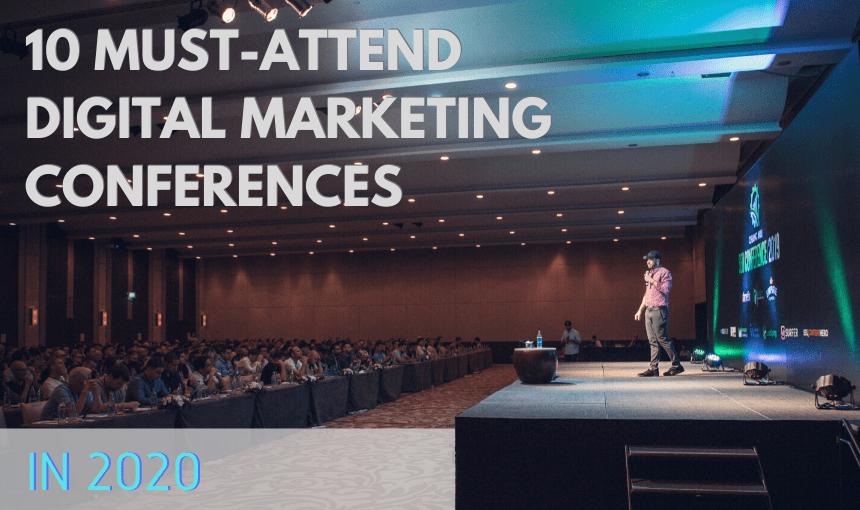 10 Digital Marketing Conferences Image