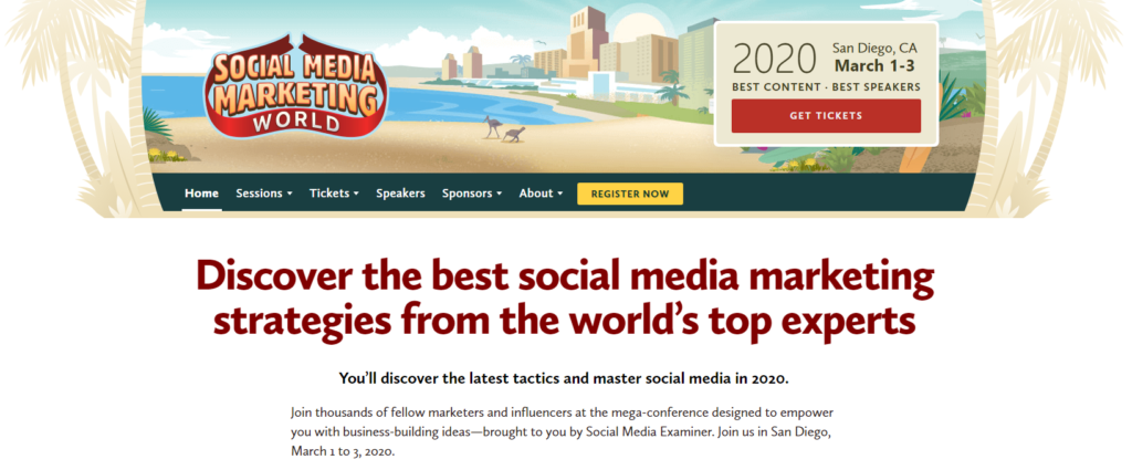 Social Media Marketing World Image