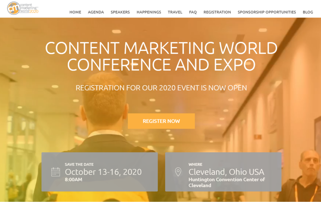 Content Marketing World Image