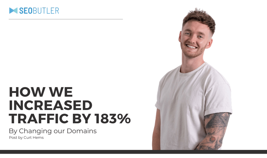 How We Increased Traffic by 183%