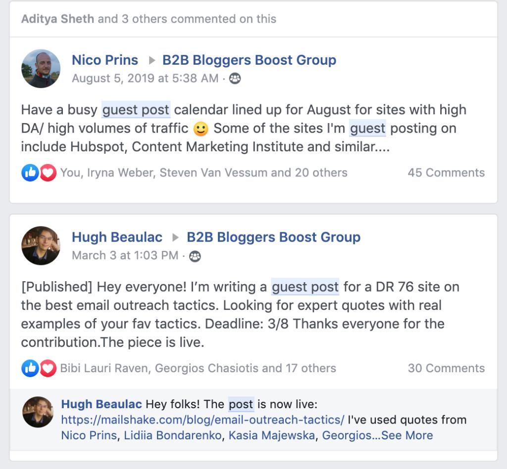 B2B Bloggers Boost