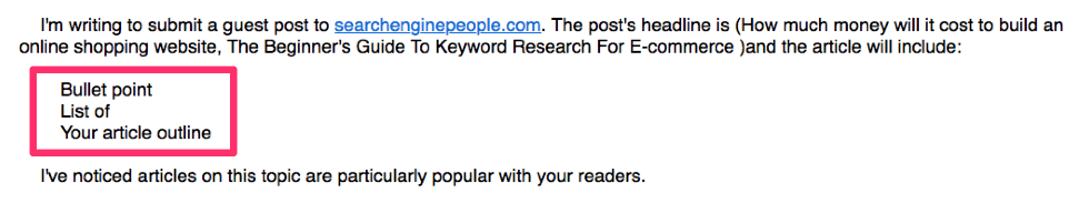 Bad Email Outreach 4