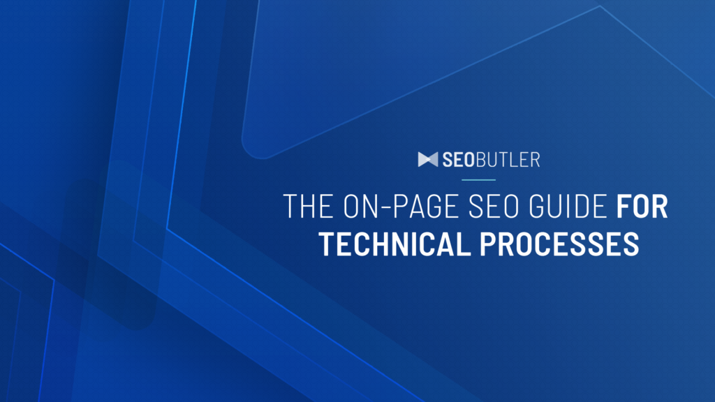 On-page seo guide - Header
